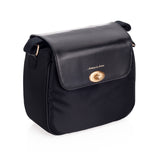 Artisan & Artist* 3WC-PO015 Black Canvas Bag