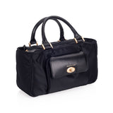Artisan & Artist* 3WC-PO014 Black Canvas Bag
