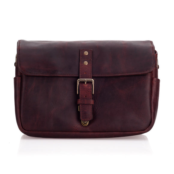 ONA Leather Bowery Camera Bag - Bordeaux