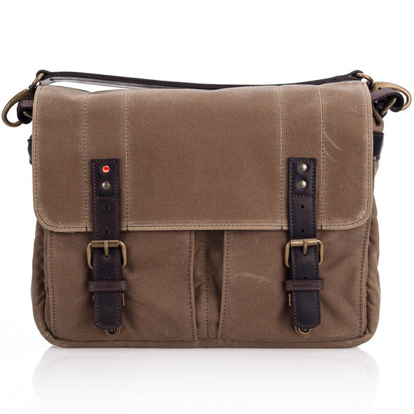 Leica Collection by ONA, Prince Street Camera Messenger Bag - Field Tan