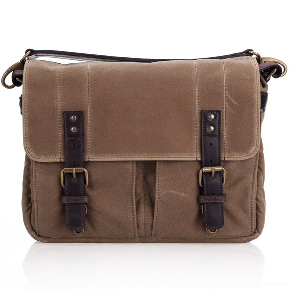 ONA Prince Street Camera Messenger Bag - Field Tan