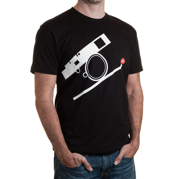 Leica Bauhaus T-Shirt - Black/White - Large