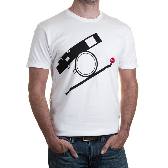 Leica Bauhaus T-Shirt - White/Black - Large