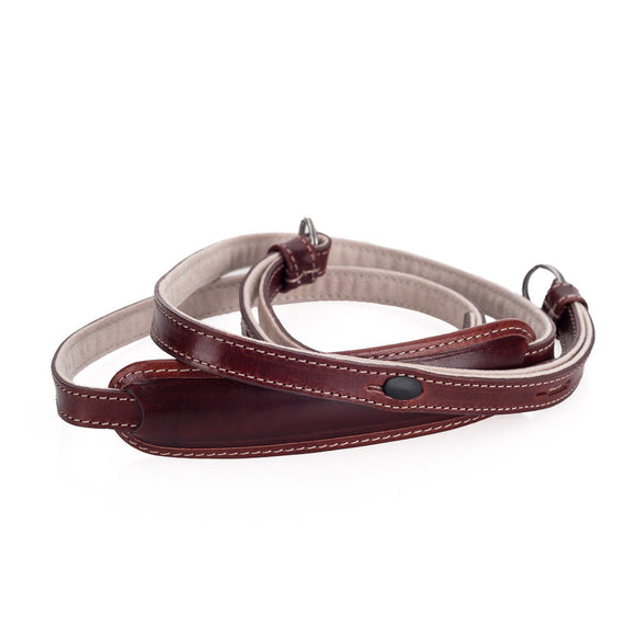 Leica Strap X, Leather Brown