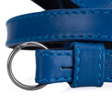 Leica Traditional carrying strap Box calf leather blue