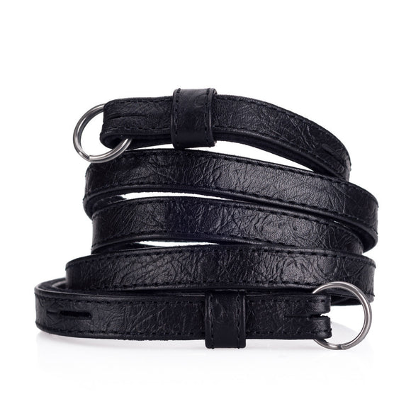 Leica Traditional carrying strap Ostrich look black