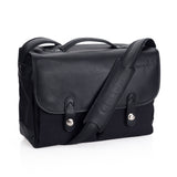 Oberwerth Munchen Large Camera Bag - Cordura/Leather -  Black/Black