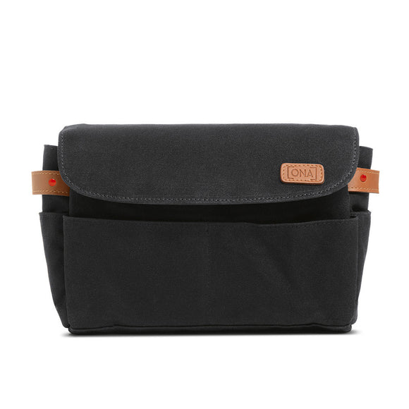Leica Collection by ONA, Roma Camera Insert and Organizer - Black