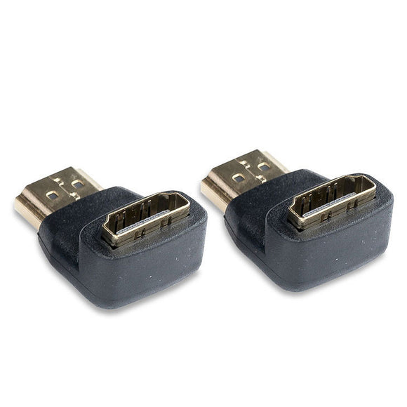 Video Devices Right Angle Adapter HDMI (Type A male - Type A female)