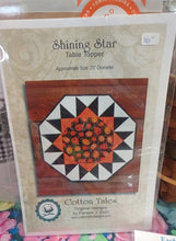 Load image into Gallery viewer, Shining Star Table Topper Project Pattern