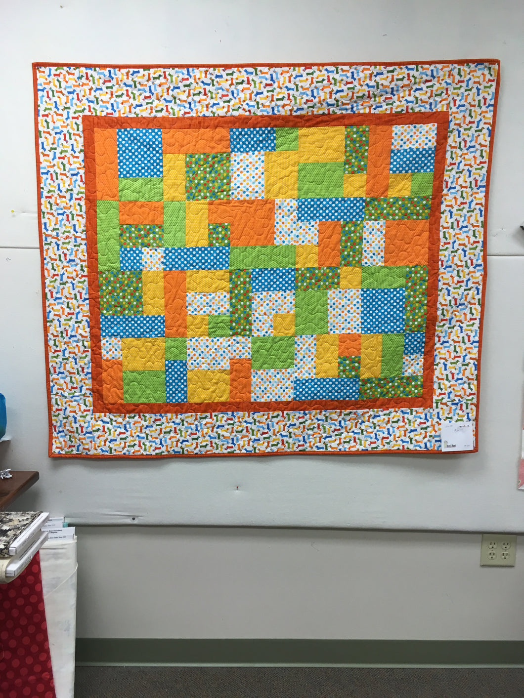Sample Children's Quilt #109
