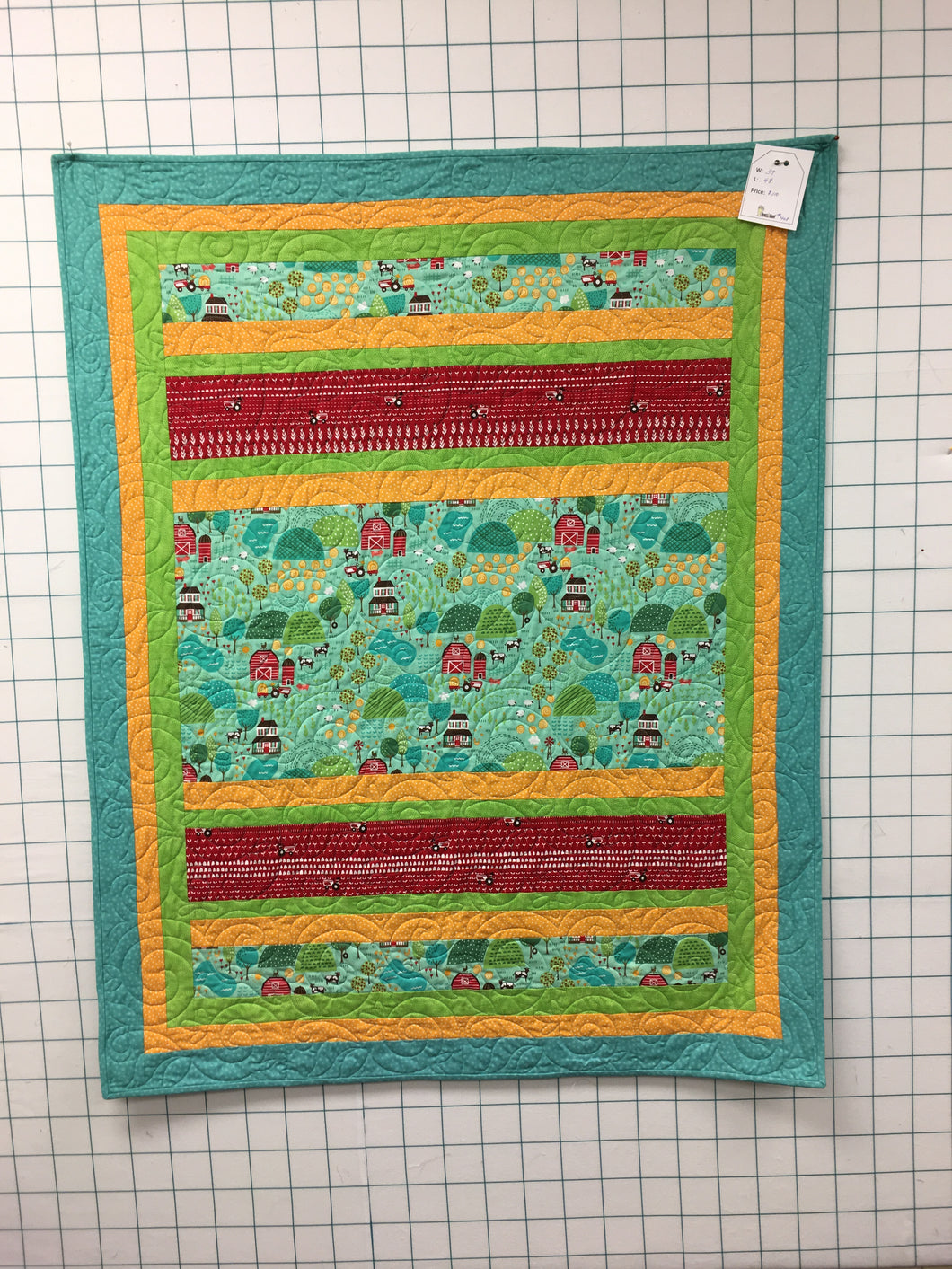 Sample Children's Quilt #408