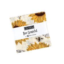 Bee Grateful by Moda Mini Charm Squares
