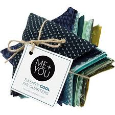 20 Cool Fat Quarters by Me+You