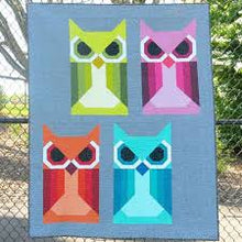 Load image into Gallery viewer, Allie Owl by Elizabeth Hartman Quilt Pattern