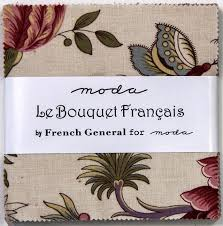 Le Bouquet Francais by Moda Mini Charm Squares
