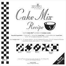 Miss Rosie's Quilt Co. Cake Mix Recipe Book 5
