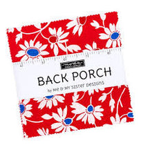 "Load image into Gallery viewer, Back Porch 5"" Charm Pack"