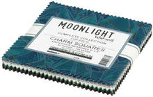 Load image into Gallery viewer, Moonlight by Wishwell Charm Squares Pack