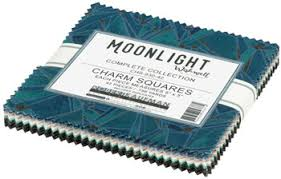 Moonlight by Wishwell Charm Squares Pack
