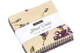 Sweet Violet by Moda Mini Charm Squares