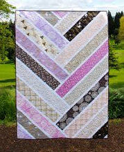 Load image into Gallery viewer, The Broken Herringbone by Violet Craft Quilt Pattern