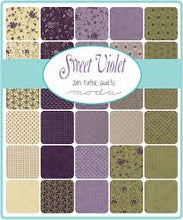 Load image into Gallery viewer, Sweet Violet by Moda Mini Charm Squares