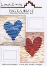 Load image into Gallery viewer, Have A Heart Quilt Pattern