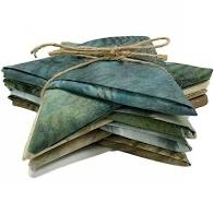 10 Piece Painted Forest Fat Quarter Bundle by Hoffman