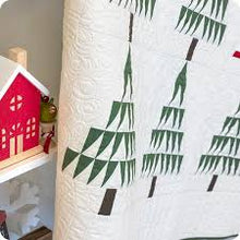 Load image into Gallery viewer, Santa In The Pines Quilt Kit
