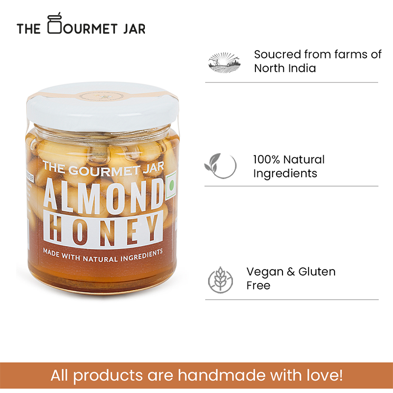 The Bee-Nutty Trio (3 x 140g* jars of infused honey)
