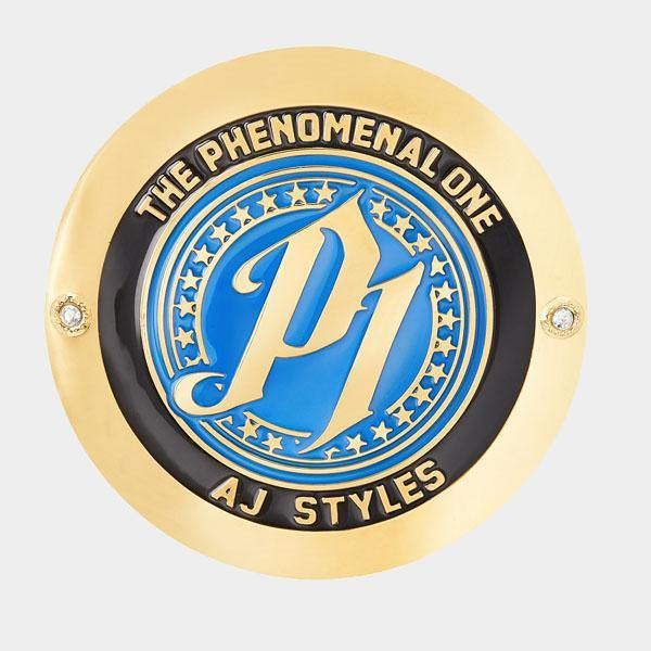 AJ Styles Championship Replica Side Plate Box Set