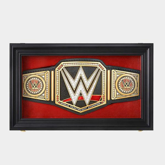 Replica WWE Championship Title Display Case