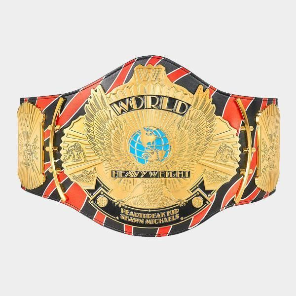 Shawn Michaels Signature Series Championship Replica Title