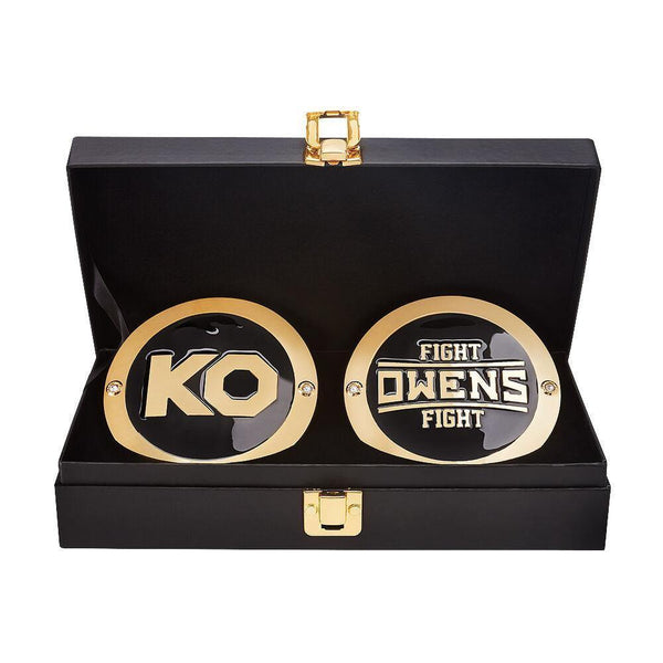 Kevin Owens Championship Replica Title Side Plate Box Set - Dichini