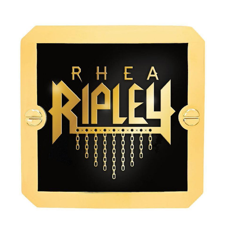 Rhea Ripley NXT Women's Championship Replica Side Plate Box Set - Dichini