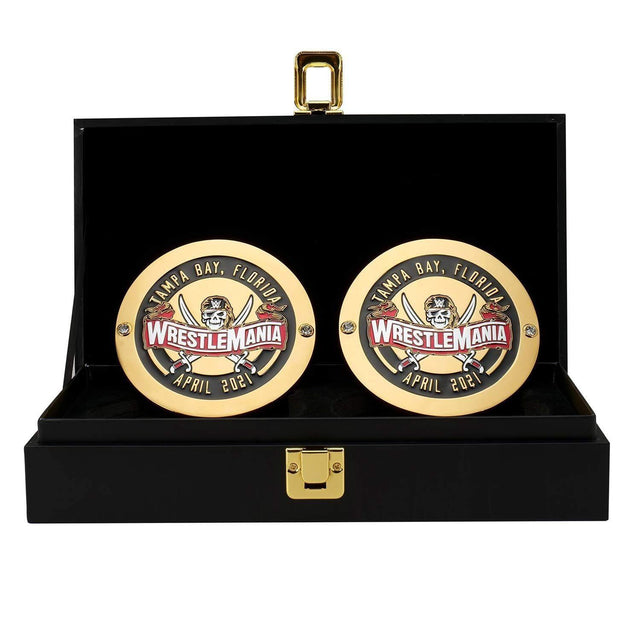 WrestleMania 37 Side Plate Box Set