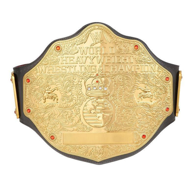 WWE World Heavyweight Championship Replica Title Belt (2mm Version) - Dichini