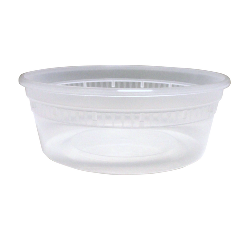Base 8OZ Plastic Soup Containers
