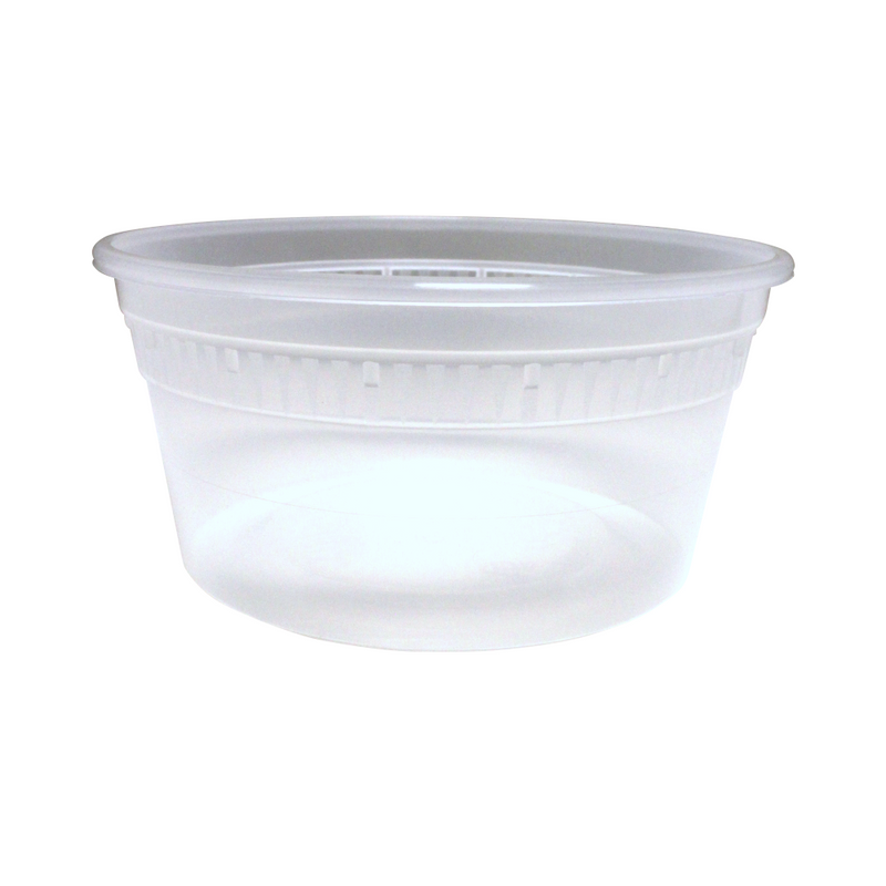 SC-12 Base 12OZ Plastic Soup Containers, 480/CS