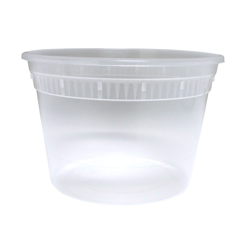 SC-16 Base 16OZ Plastic Soup Containers, 480/CS