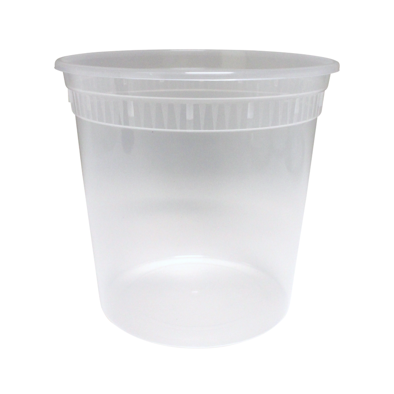 SC-24 Base 24OZ Plastic Soup Containers, 480/CS