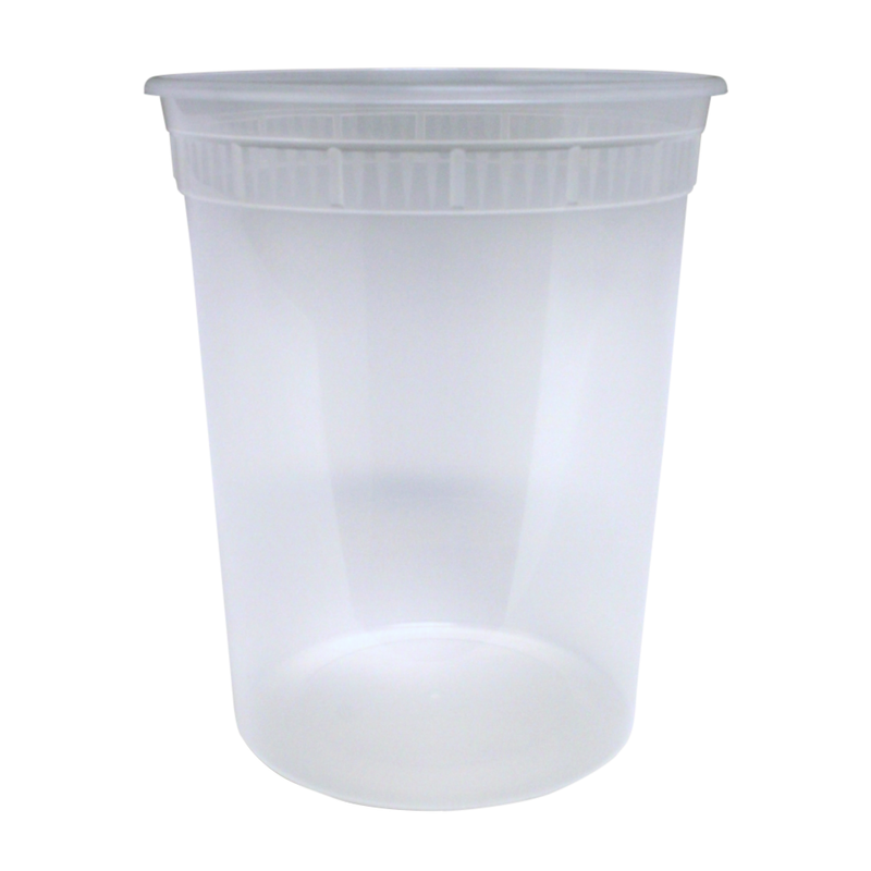 Base 32OZ Plastic Soup Containers