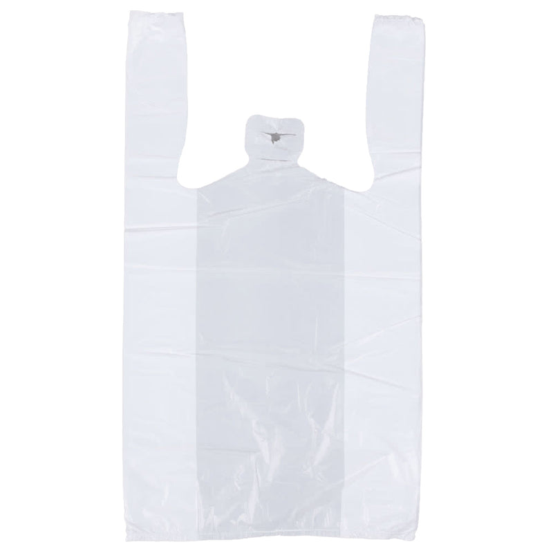 Plastic Bag 1/8 Plain White, 2000/CS