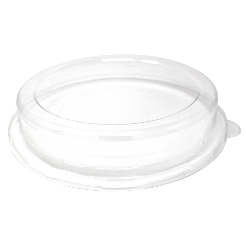 PET-L014D Dome Lid for 32OZ Bagasse Bowl, 200/CS