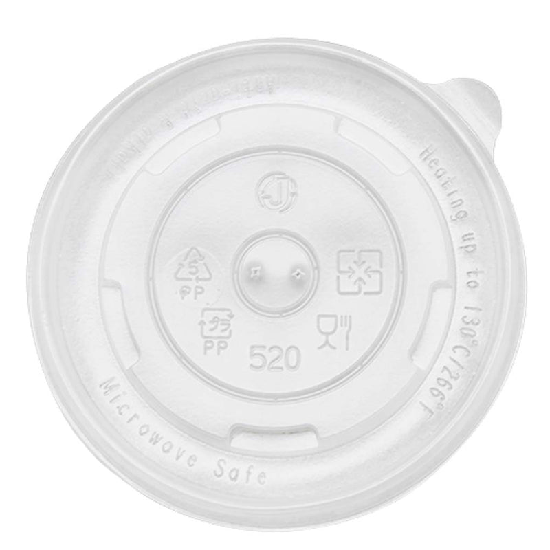 PP Flat Lid for 24OZ Paper Food Container PC142-PPFL