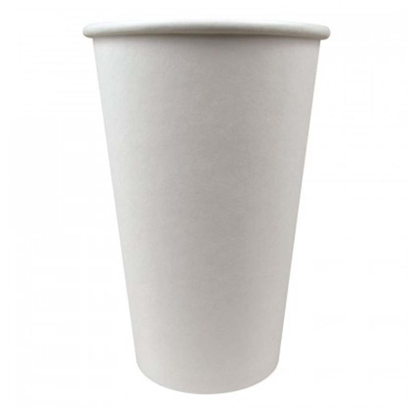 Solo 16OZ White Paper Hot Cup 316W-2050, 1000/CS