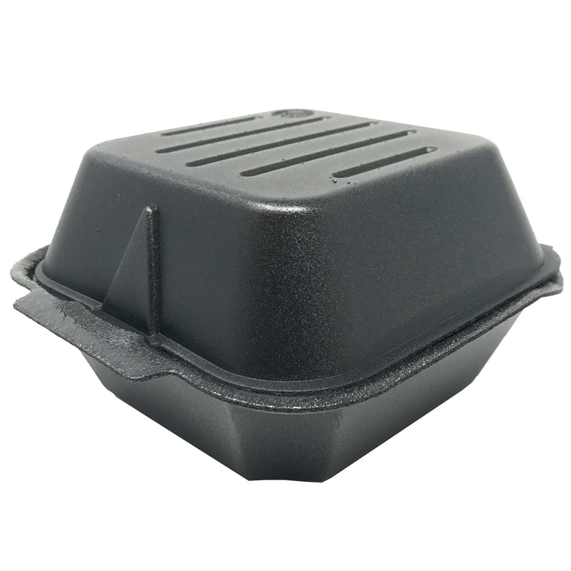 Ceres Foam Container 5.5x5.5x3.25 Black 225, 500/CS