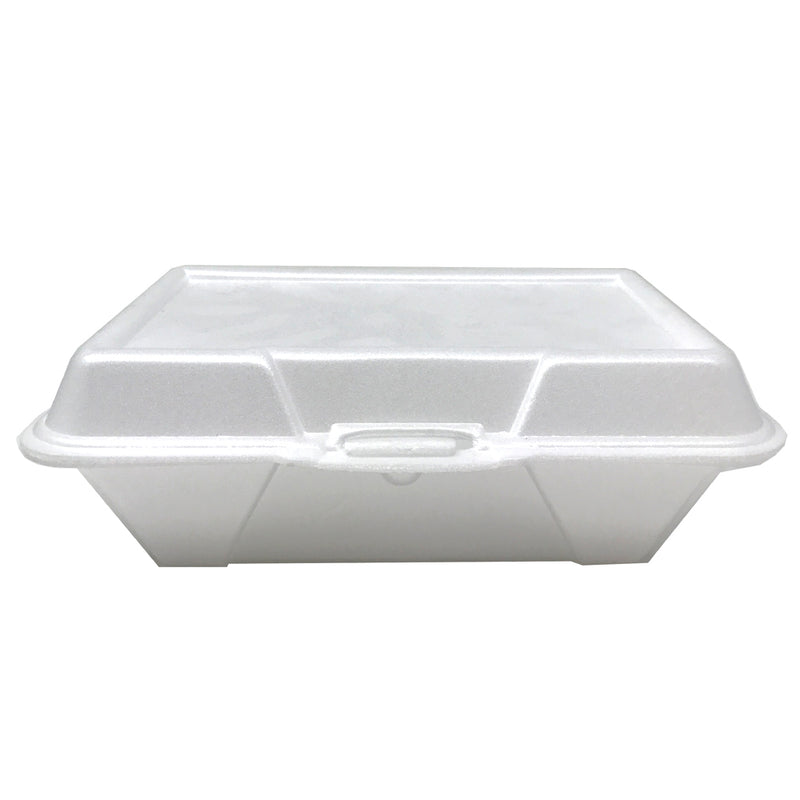 Ceres Foam Container 9.25x6.38x2.88 Rect 1-Comp 205, 200/CS