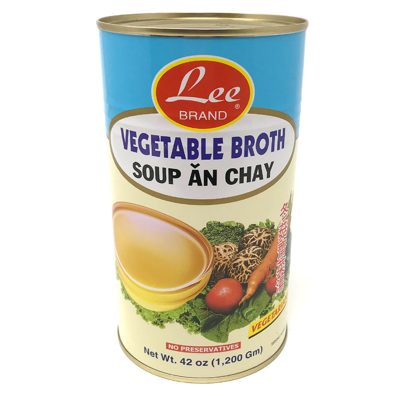 Lee (XL) Vegetable Broth, 12X42OZ